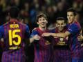 Рекорд Месси и чудо с Кипра. Барселона и АПОЭЛ выходят в четвертьфинал Лиги Чемпионов