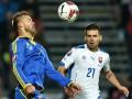 Украина – Словакия: стартовые составы команд