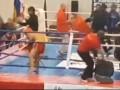 Поединок чемпионата Европы по кинг-фу закончился массовой дракой с дубинками