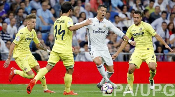 Реал не сумел обыграть Вильярреал