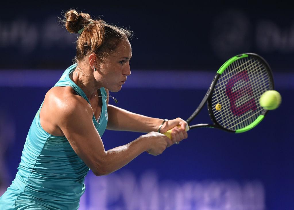 теннисистка бондаренко