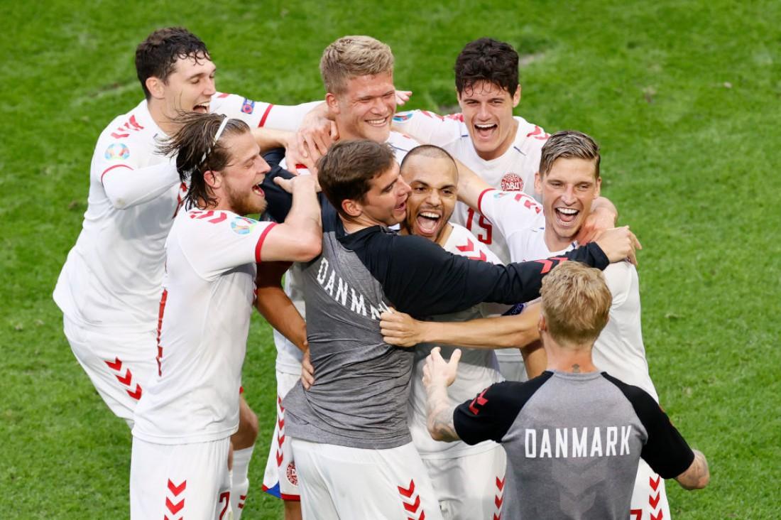 Дания обыграла Уэльс