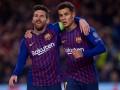 Барселона прошла Лион в Лиге чемпионов