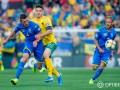 Украина разгромила Литву в матче отбора на Евро-2020