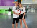 Зинченко провел яркую тренировку с возлюбленной