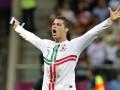 Фотогалерея: Роналдо решает. Португалия побеждает Чехию