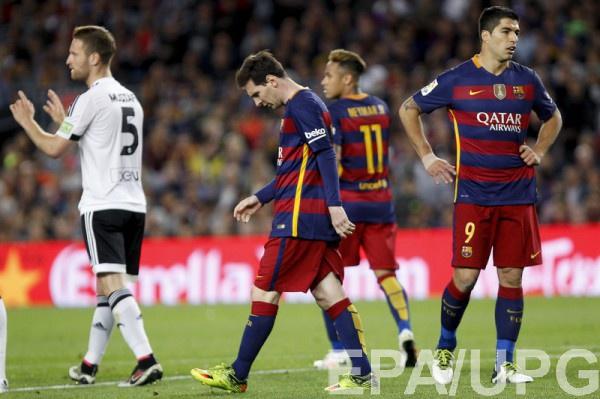 Барселона проиграла Валенсии