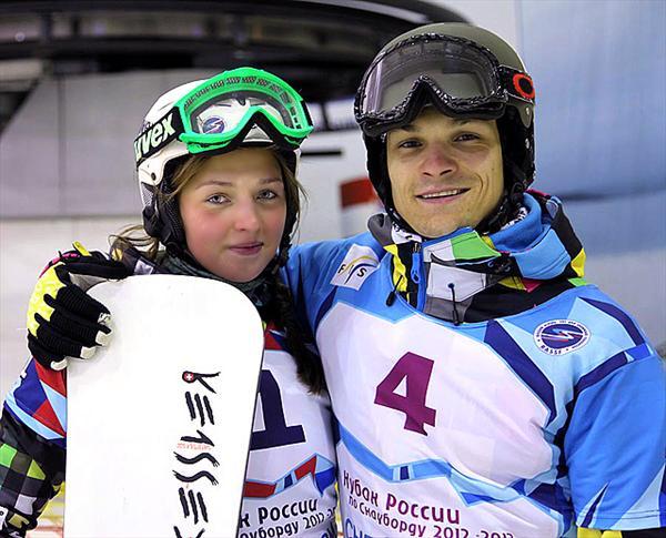 Алена Заварзина и Вик Уайлд