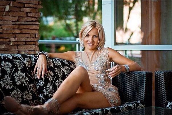Супруга Сергея Кравченко