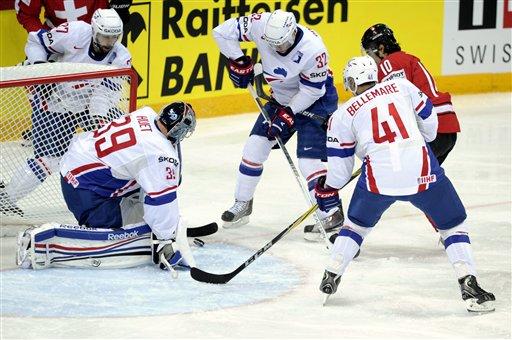 Прогноз франция хоккей швейцария