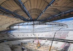 Срок строительства варшавского стадиона к Евро-2012 может затянуться