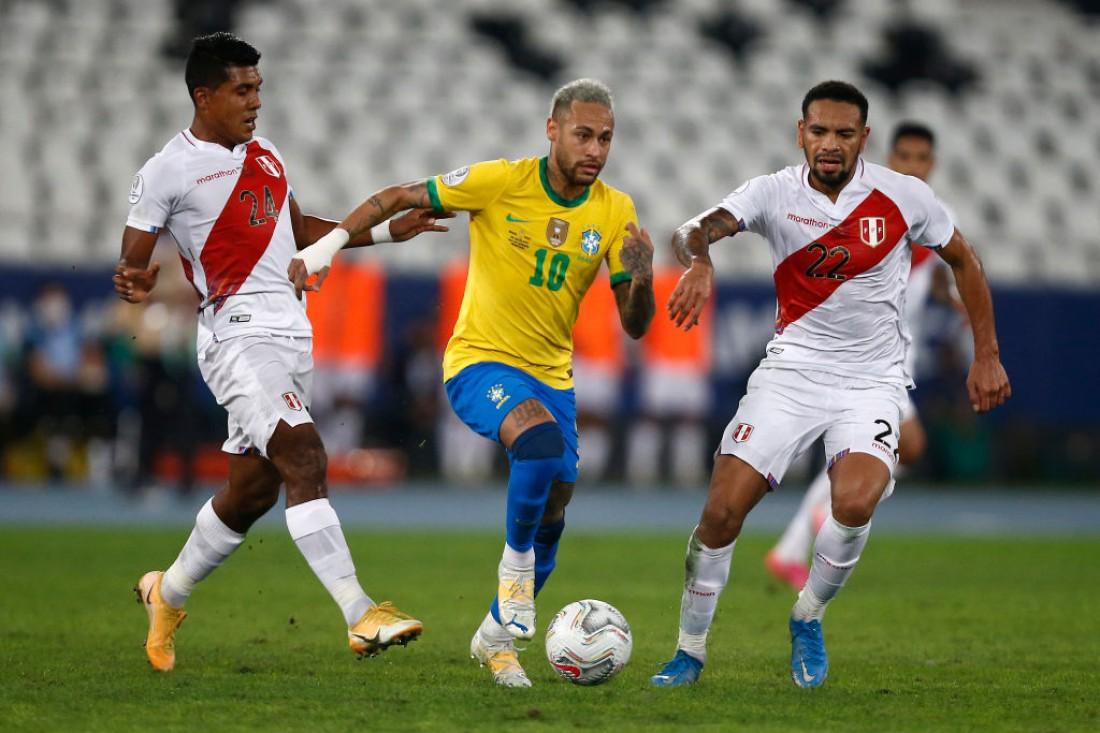 Бразилия - Перу: видео гола и обзор матча