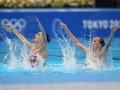 Украинки Федина и Савчук вышли в финал ОИ-2020 по артистическому плаванию