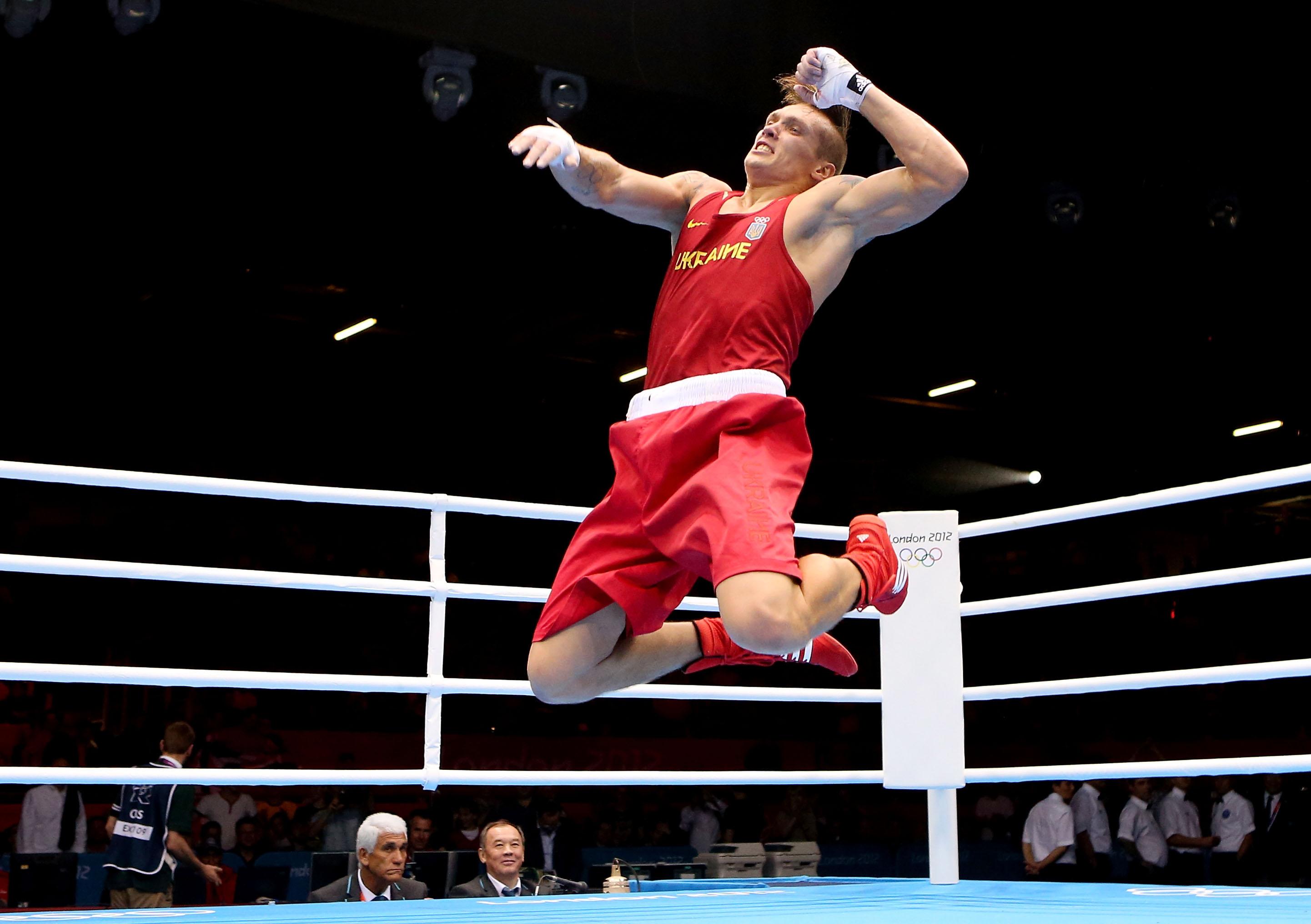 Триумф Александра Усика на Олимпиаде в Лондоне 2012