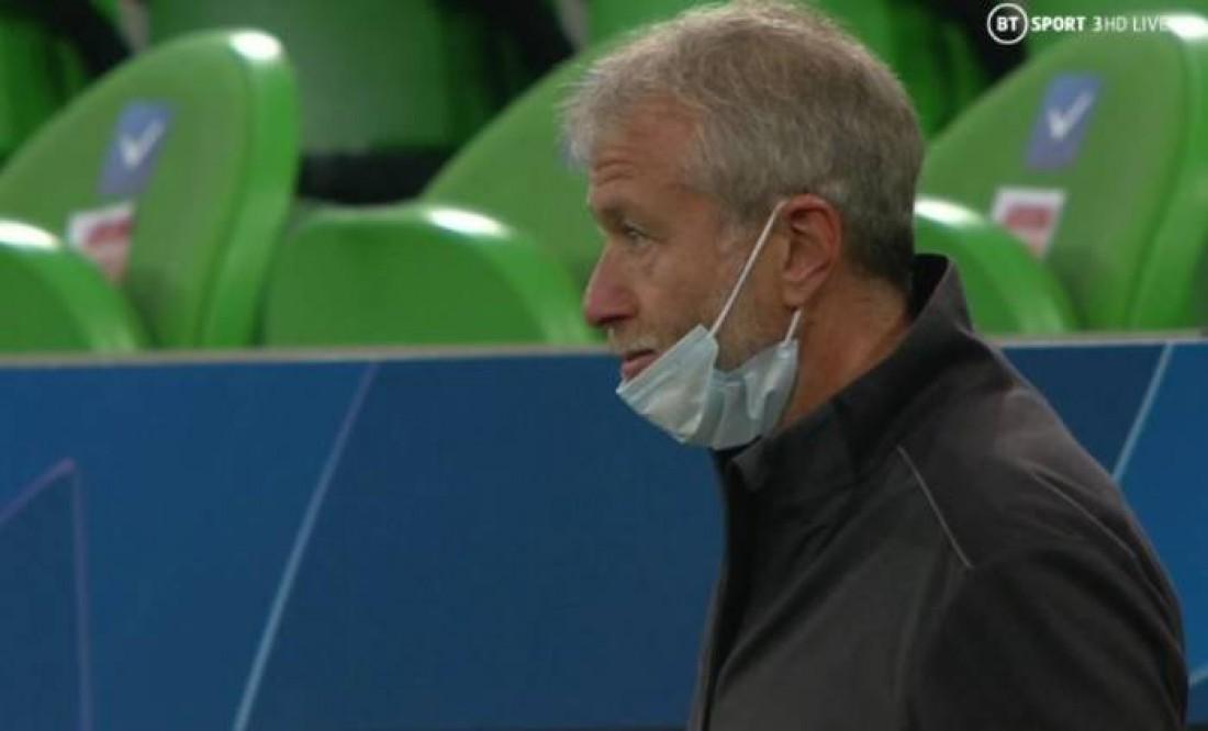 Абрамович на матче в Краснодаре