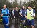 Шевченко cыграл в футбол с новым президентом ФИФА