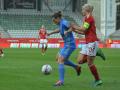 Украинские футболистки проиграли Дании и почти лишились шансов на ЧМ