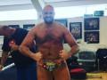 Фьюри впечатлил своей формой за месяц до возвращения на ринг