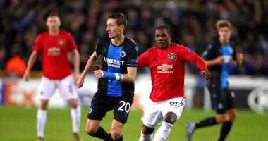 Брюгге - Манчестер Юнайтед 1:1 видео голов и обзор матча Лиги Европы