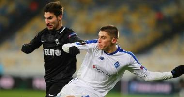 Динамо - Яблонец 0:1 видео гола и обзор матча Лиги Европы