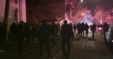 В Одессе произошла драка украинских и голландских фанатов