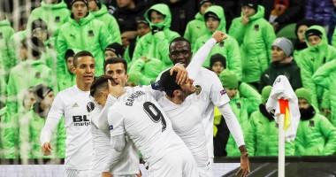 Краснодар - Валенсия 1:1 видео голов и обзор матча Лиги Европы