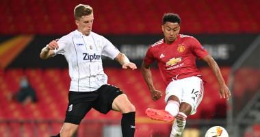 Манчестер Юнайтед - ЛАСК 2:1 видео голов и обзор матча Лиги Европы