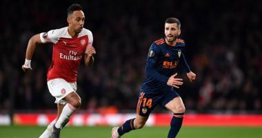 Арсенал - Валенсия 3:1 видео голов и обзор матча Лиги Европы