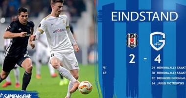 Бешикташ - Генк 2:4 видео голов и обзор матча Лиги Европы