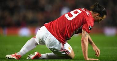 Видео жуткой травмы Ибрагимовича в матче против Андерлехта
