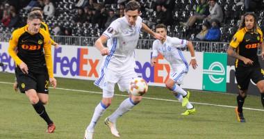 Янг Бойз - Динамо 0:1 видео гола и обзор матча Лиги Европы