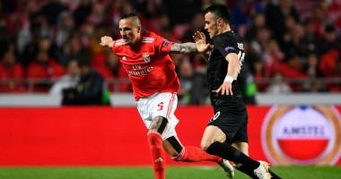 Бенфика - Айнтрахт 4:2 видео голов и обзор матча Лиги Европы
