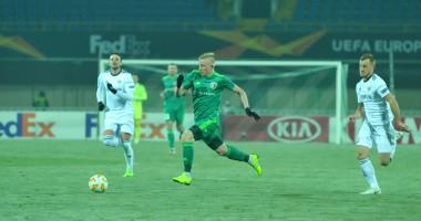 Ворскла - Карабах 0:1 видео гола и обзор матча