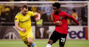 Астана - Манчестер Юнайтед 2:1 видео голов и обзор матча Лиги Европы