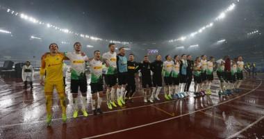 Рома - Боруссия М 1:1 видео голов и обзор матча Лиги Европы
