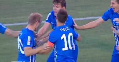 Ворскла - Локомотива 2:3 Видео голов и обзор матча Лиги Европы