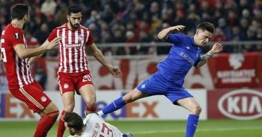 Динамо - Олимпиакос 1:0 видео гола и обзор матча Лиги Европы