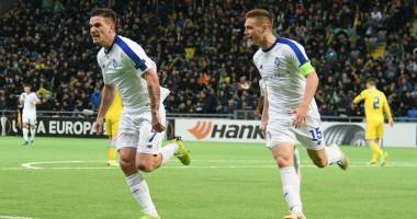 Астана – Динамо Киев 0:1 видео гола и обзор матча Лиги Европы