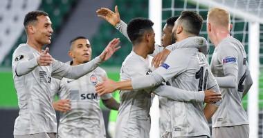 Вольфсбург - Шахтер 1:2 видео голов и обзор матча Лиги Европы