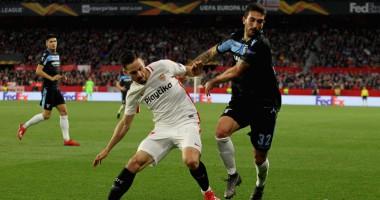 Севилья - Лацио 2:0 видео голов и обзор матча 1/16 финала ЛЕ