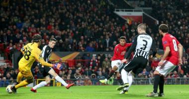 Манчестер Юнайтед - Партизан 3:0 видео голов и обзор матча Лиги Европы