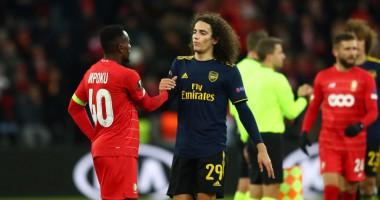 Стандарт - Арсенал 2:2 видео голов и обзор матча Лиги Европы