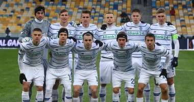 Динамо - Брюгге: видео голов и обзор матча Лиги Европы