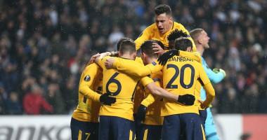 Копенгаген - Атлетико 1:4 видео голов и обзор матча Лиги Европы