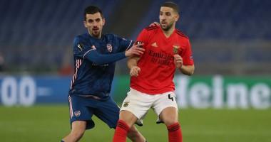 Бенфика — Арсенал 1:1 Видео голов и обзор матча Лиги Европы