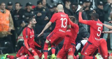 Бешикташ - Лион 2:1 Видео голов и обзор матча Лиги Европы