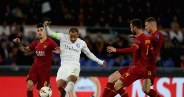 Гент - Рома 1:1 Видео голов и обзор матча Лиги Европы