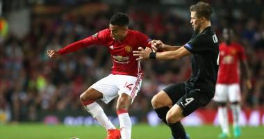 Манчестер Юнайтед – Заря 1:0 Видео голов и обзор матча Лиги Европы