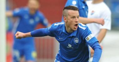 Чешский футболист забил самый быстрый гол в истории Лиги Европы
