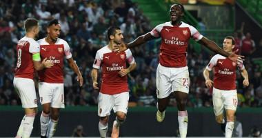Спортинг – Арсенал 0:1 видео гола и обзор матча Лиги Европы